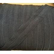 Biais jersey Noir