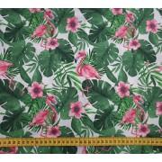 """Coton """"Flamants roses"""""""