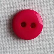 Lot 5 boutons fushia 9mm