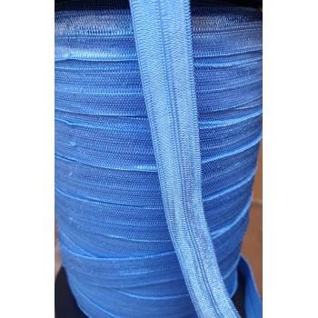 Elastique pré plié Bleu