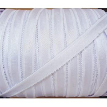 Elastique lingerie blanc