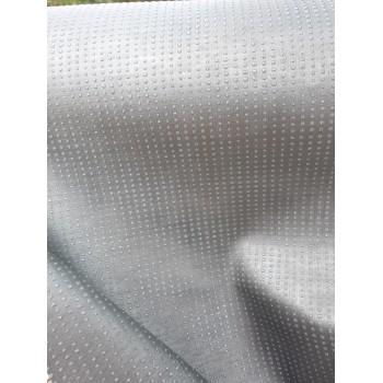 Simili cuir Strass gris