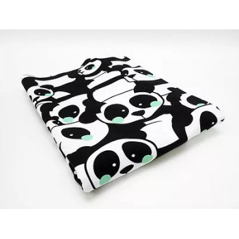 Sweat bouclettes Pandas Mint