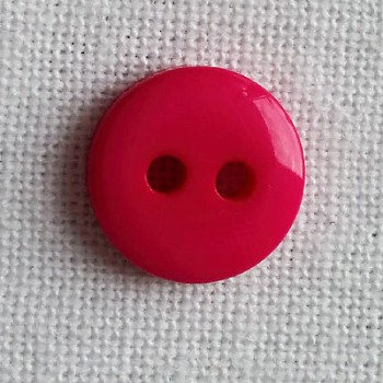 Lot 5 boutons fushia 9mm