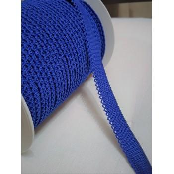 Elastique fantaisie bleu Roy