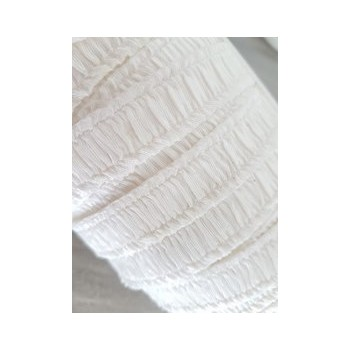Elastique fantaisie blanc